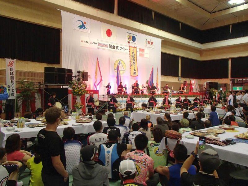 宮古島トライアスロンの開会式