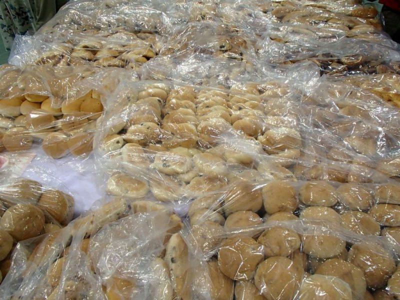 カーボパーティーのパン類