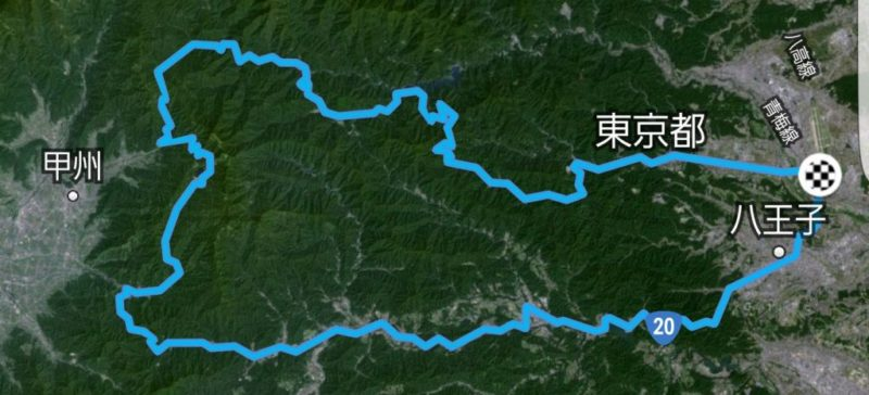 柳沢峠STRAVA