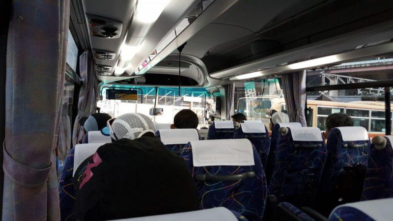 キタタンの会場行きシャトルバス