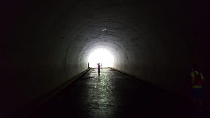 キタタンのトンネル
