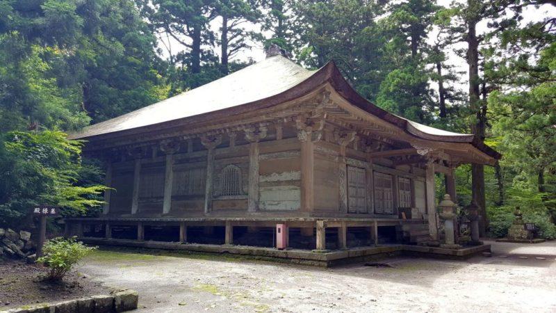 鳥取大山の阿弥陀堂