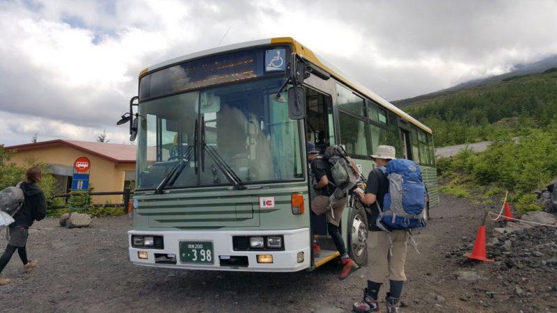 新松田行きのバス