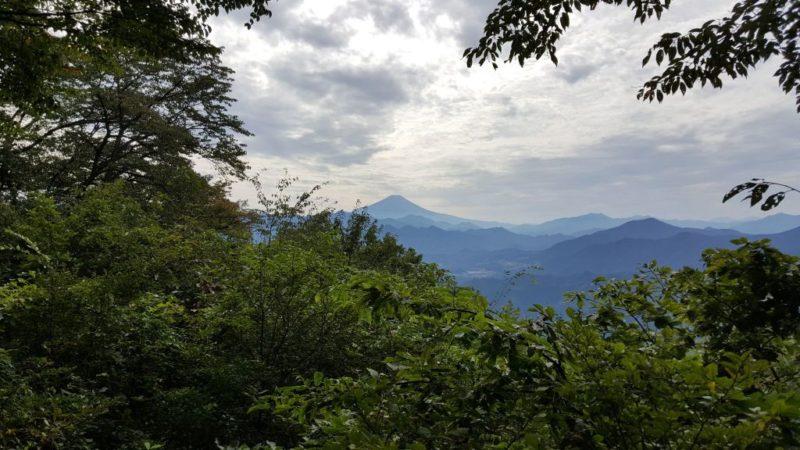 三国山からの眺め(富士山)