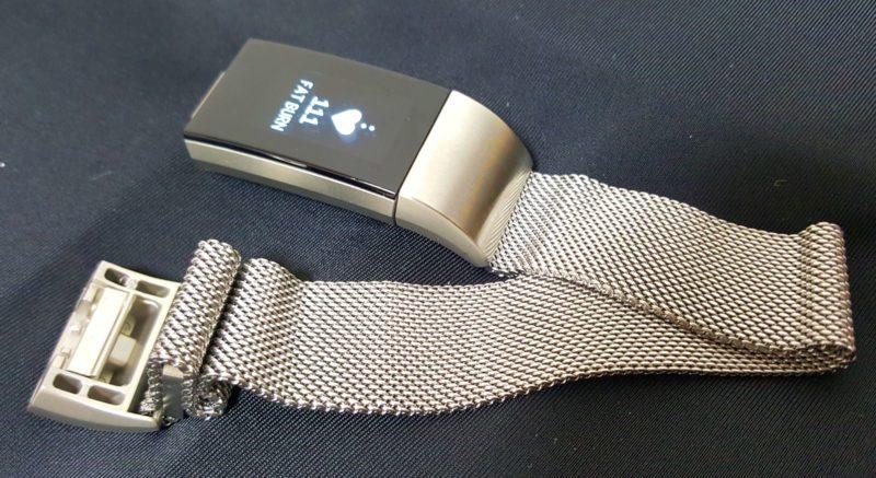 Fitbit Charge 2のベルト交換
