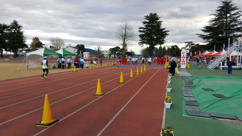 大田原マラソンのゴール地点