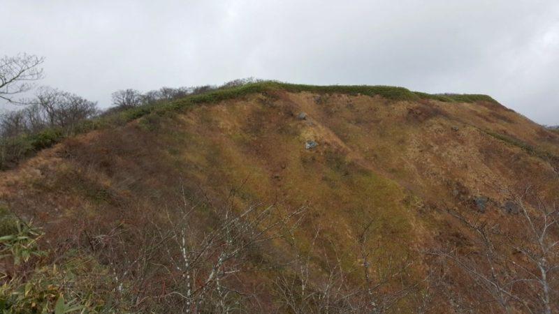 前山の山頂