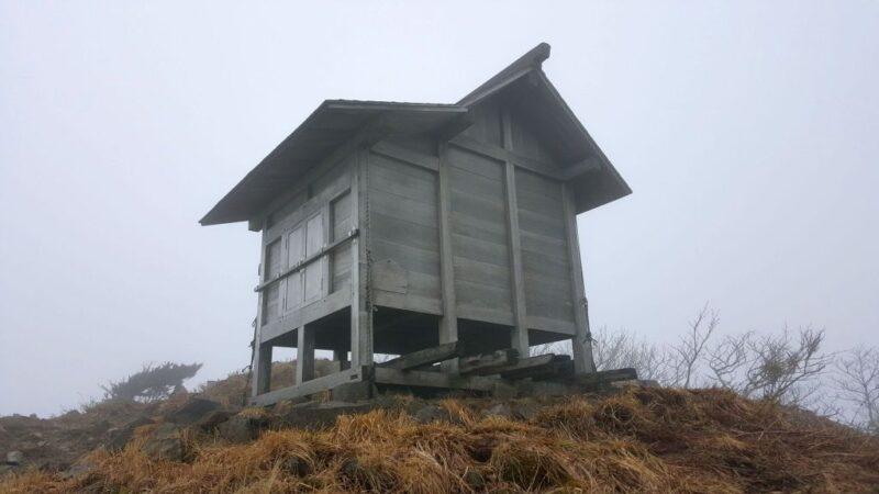 能郷白山神社の奥宮