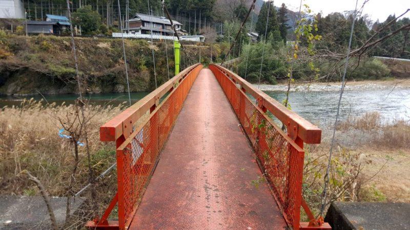 樽見の吊り橋
