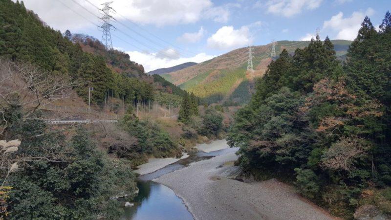 根尾川の風景