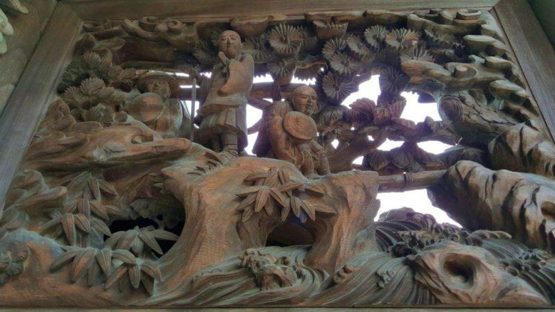 西光寺の彫刻