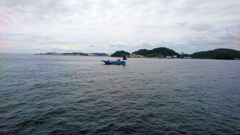 日産カップの海の状況