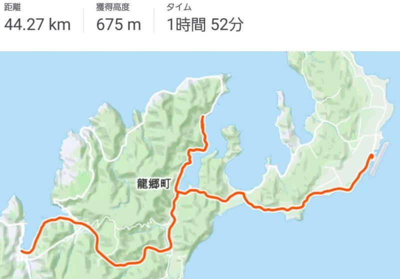 STRAVA 奄美大島