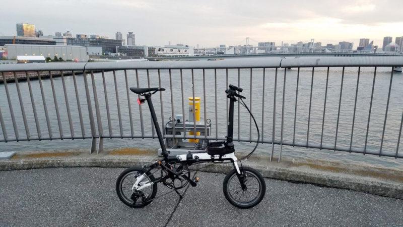 ダホンK3で豊洲をサイクリング