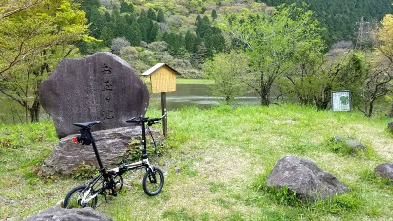 お玉ヶ池前のダホンK3