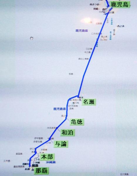 鹿児島~沖縄航路