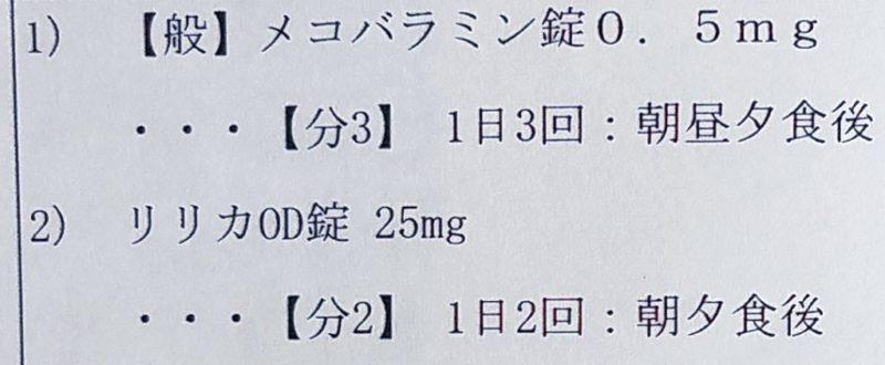 頚椎症の処方箋