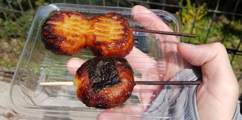 かあべえ屋の揚げ餅