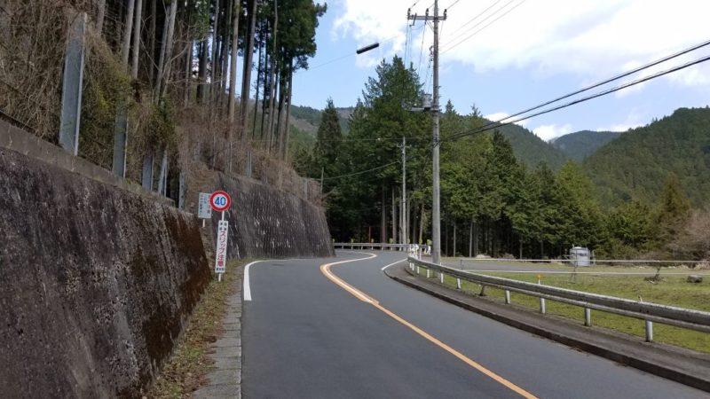 奥多摩の道路