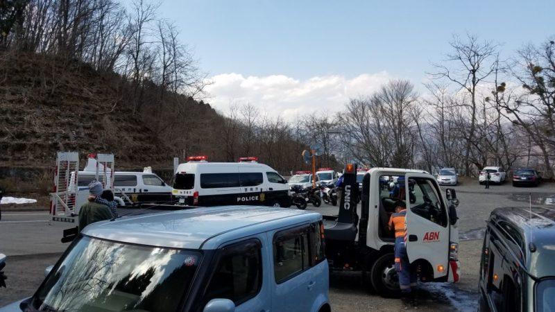 奥多摩周遊道路の交通事故